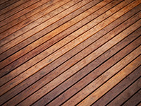 Thermo-treated wood